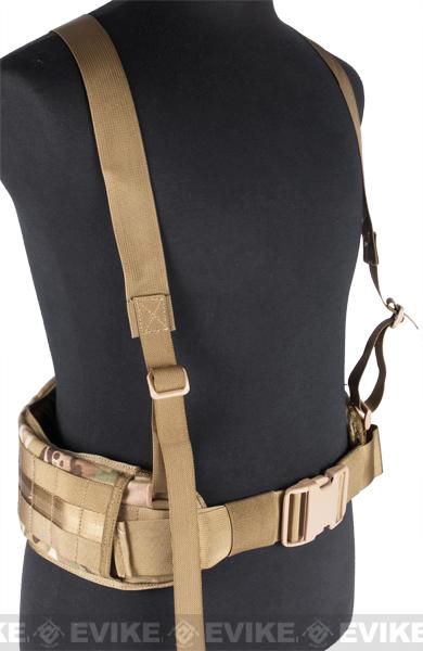 Matrix TMC MOLLE Gen II Belt with Suspenders - Multicam