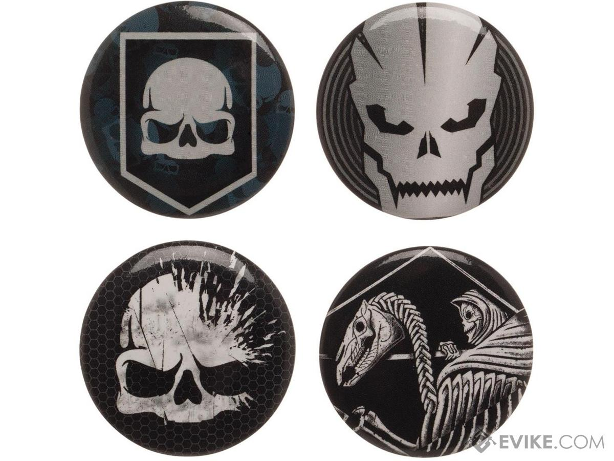 Call of Duty Collectors Buttons 4 Pack