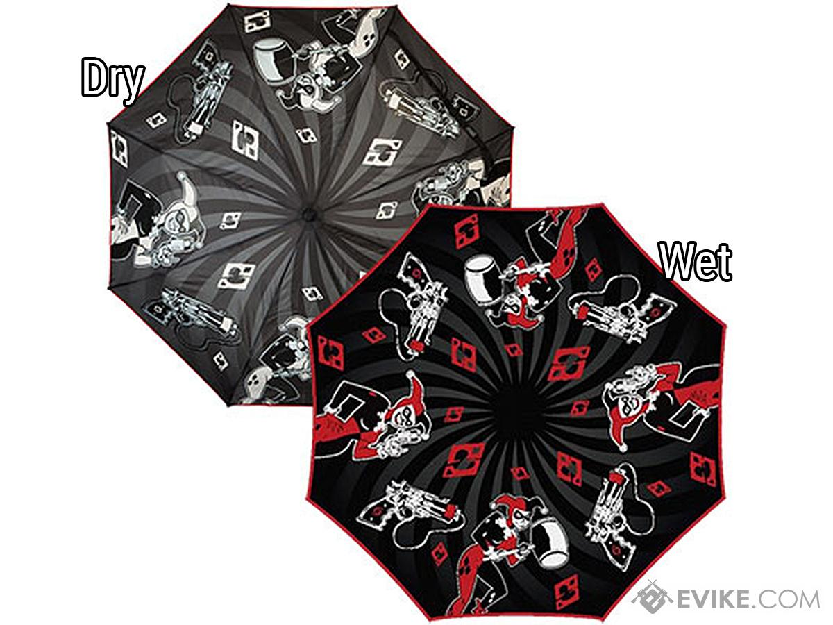 DC Comics Harley Quinn Liquid Reactive Umbrella