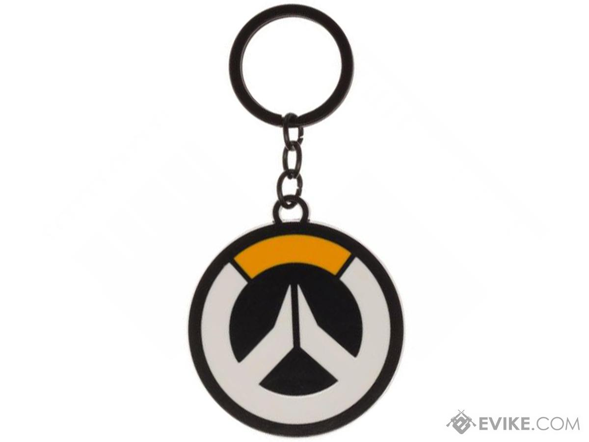 Bioworld Overwatch Metal Logo Keychain