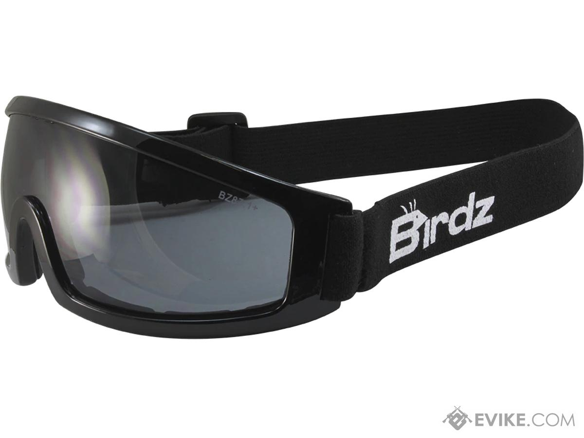 4248966fea Birdz Eyewear Robin Low Profile ANSI Z87.1 Goggles (Color  Smoke ...