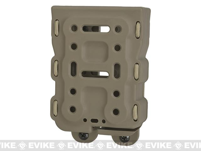 Battle Style Bite-MG M4/M16 Hardshell Magazine Pouch - Dark Earth