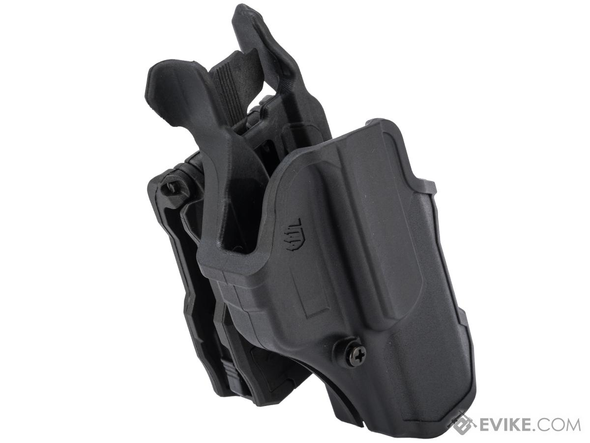 BLACKHAWK! T-Series Level 2 Compact Pistol Holster (Model: M&P 2.0 9/40 / Right Hand)