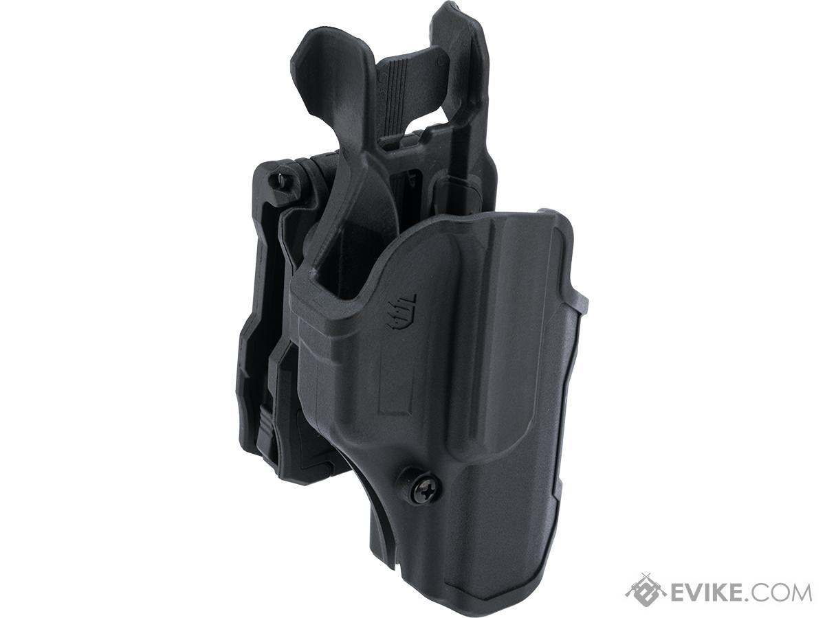 Blackhawk T-Series Level 2 Compact Pistol Holster (Model: GLOCK 17 / Right Hand)
