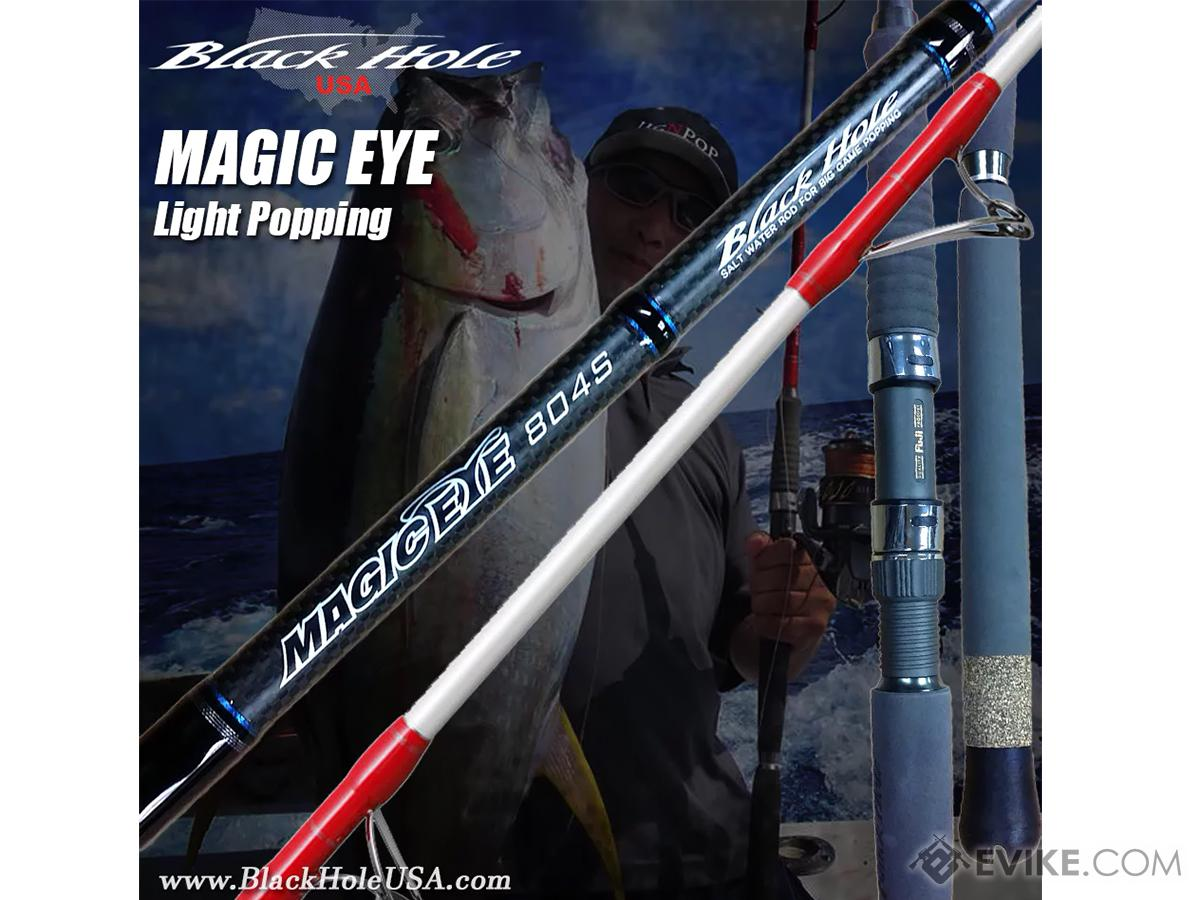Black Hole USA Magic Eye Light Popping Fishing Rod (Model: B-753)