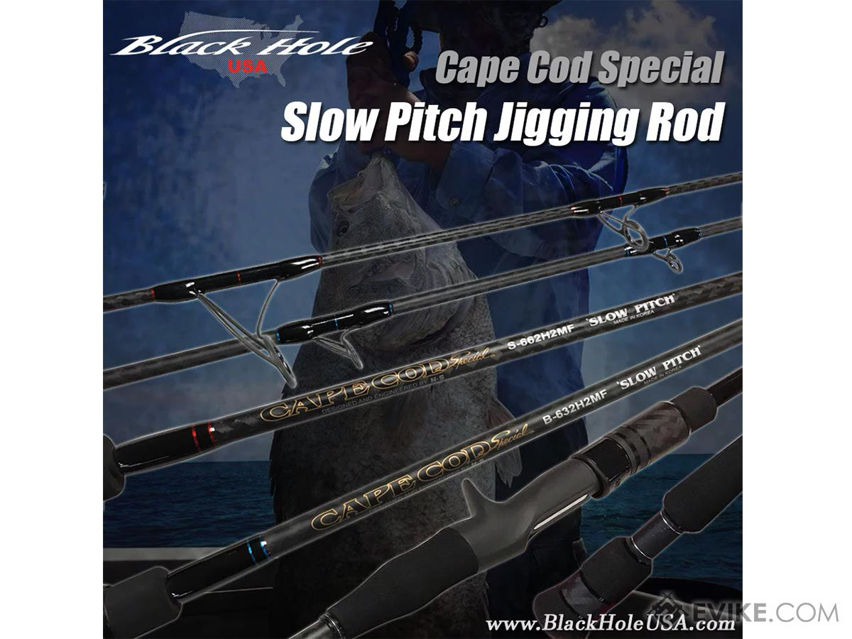 Black Hole USA Cape Cod Special Slow Pitch Jigging Rod (Model: B-662HMF)
