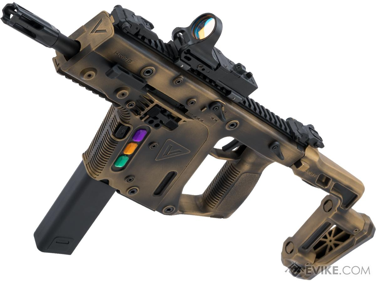KRISS USA Licensed Kriss Vector Airsoft AEG SMG Rifle by Krytac w/ Black  Sheep Arms Custom Cerakote (Color: Infinity)