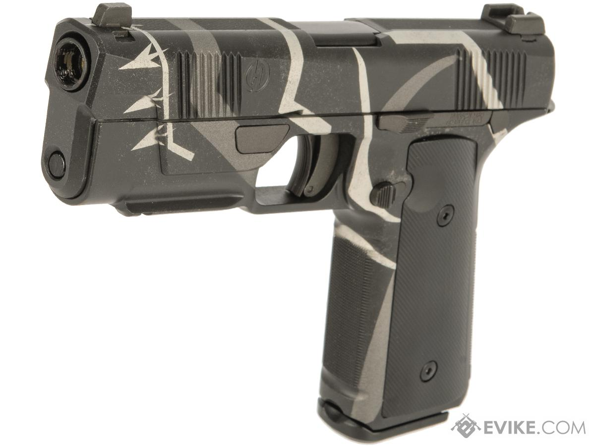 EMG / Hudson™ H9 Gas Blowback Airsoft Parallel Training Pistol w/ Black Sheep Arms Custom Cerakote (Color: Panther)