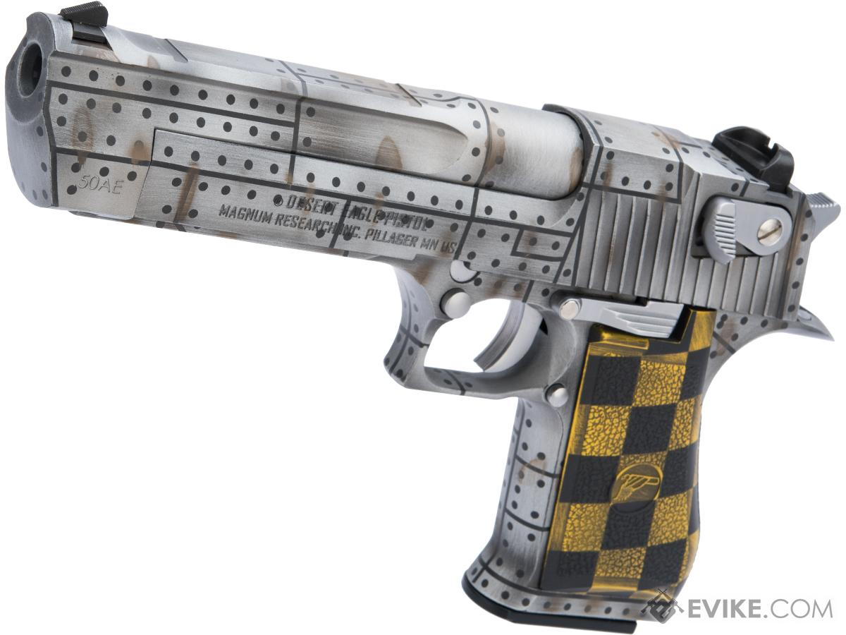 WE-Tech Desert Eagle .50 AE GBB Airsoft Pistol by Cybergun w/ Black Sheep Arms Custom Cerakote (Color: Warbird)