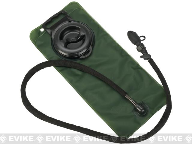 Matrix 2.5L Hydration Bladder with Insulated Hose and Detachable Mouthpiece - OD Green/Black
