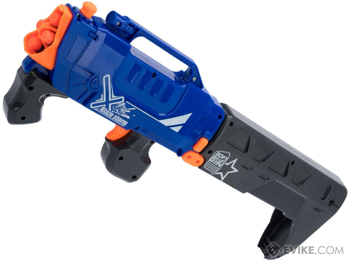 Blaze Storm Foam Blaster Foldable Pump Action Dart Gun