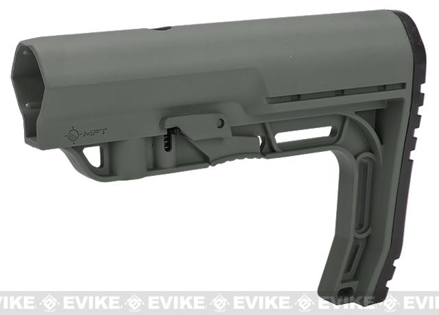 Mission First Tactical Battlelink Minimalist Stock for M4 Series AEG (Color: Foliage Green)