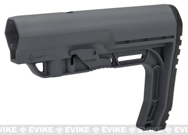 Mission First Tactical Battlelink Minimalist Stock for M4 Series AEG (Color: Grey)