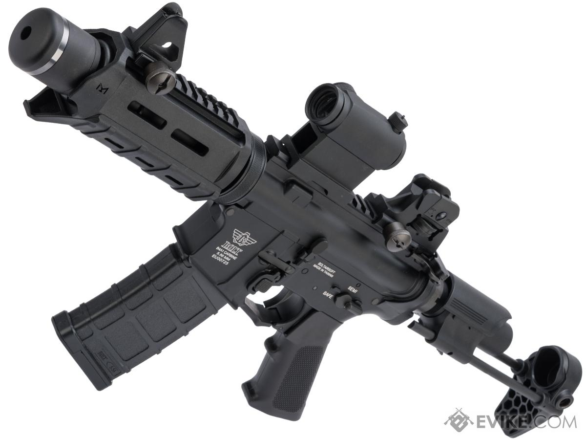 BOLT B4 PDW M4 Airsoft AEG Rifle (Color: Black / Short Suppressor)