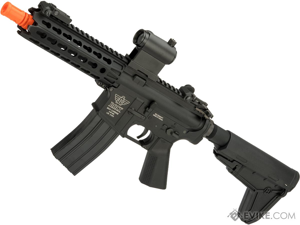 Bolt Airsoft B4 Keymod Rebel B.R.S.S EBB Airsoft AEG Rifle (Color: Black)