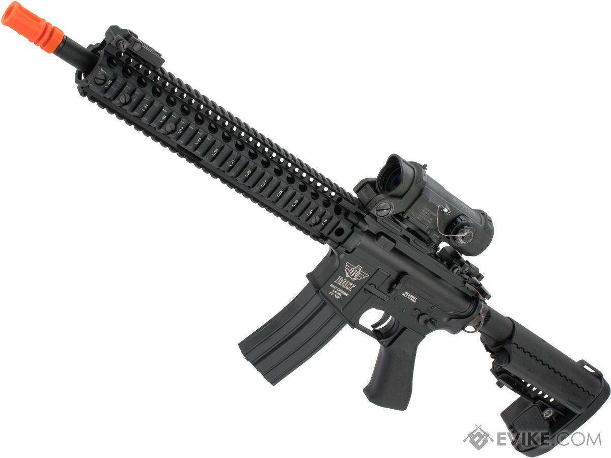 Bolt B4 SOPMOD DS B.R.S.S. HEAVY Full Metal Recoil EBB Airsoft AEG Rifle (Color: Black)