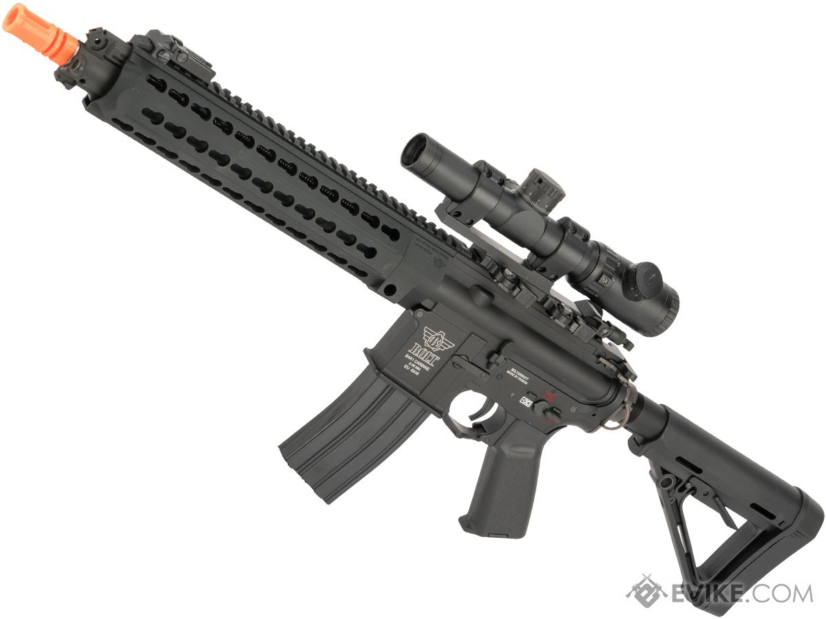 Bolt B4 DEVGRU Full Metal Recoil EBB Airsoft AEG Rifle (Color: Black)