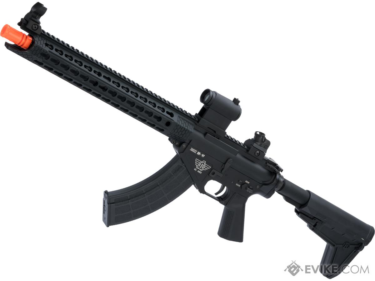 BOLT Airsoft BR-47 Cobra 13 KeyMod B.R.S.S. EBB Airsoft AEG Rifle (Color: Black)