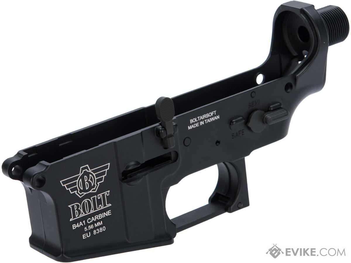 Bolt Airsoft Lower Receiver for Bolt B4 Airsoft Electric Blow Back System Rifles (Color: Black)
