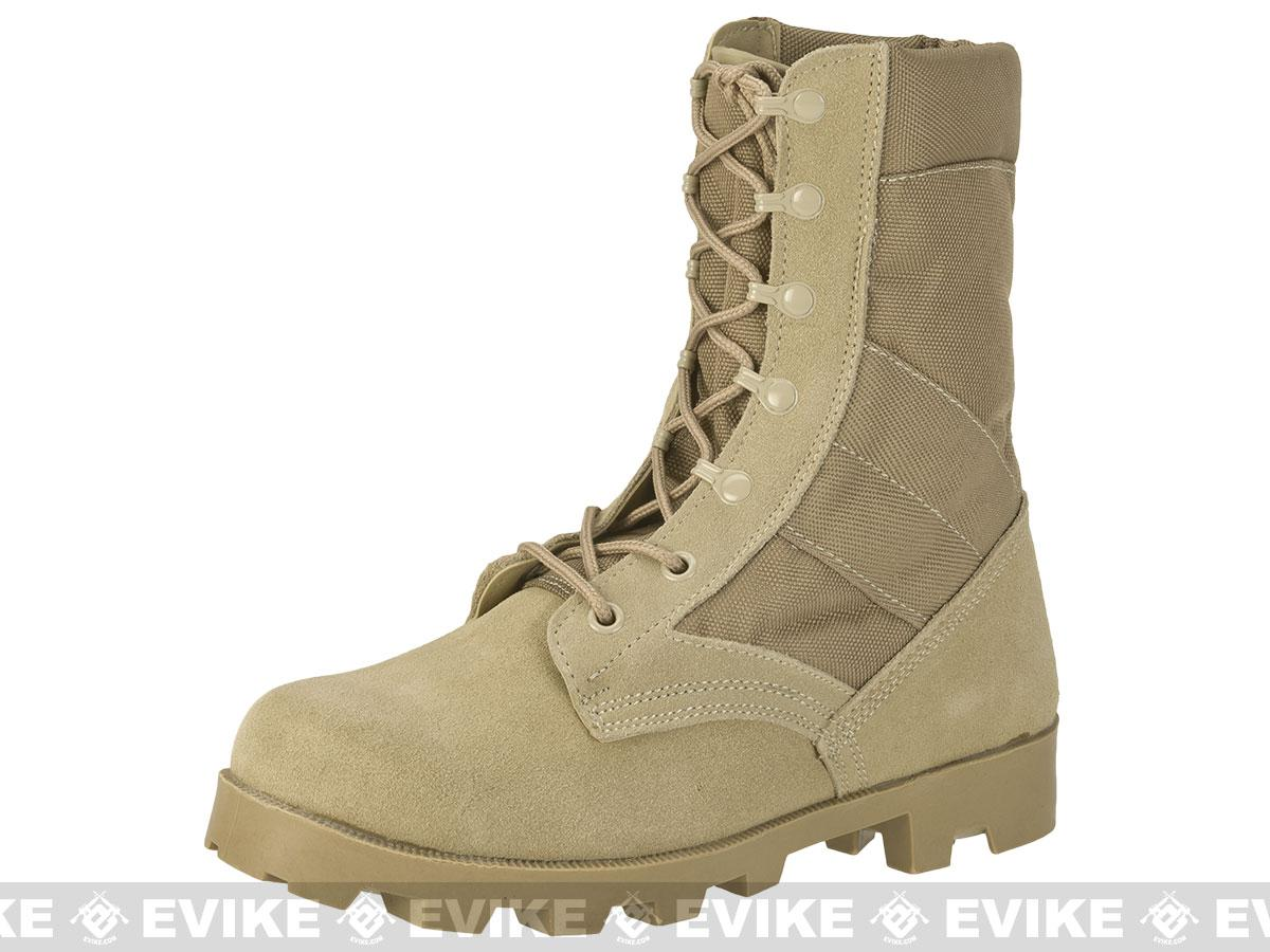 z Rothco G.I. Type Desert Speedlace Jungle Boots - Tan (Size: 13)