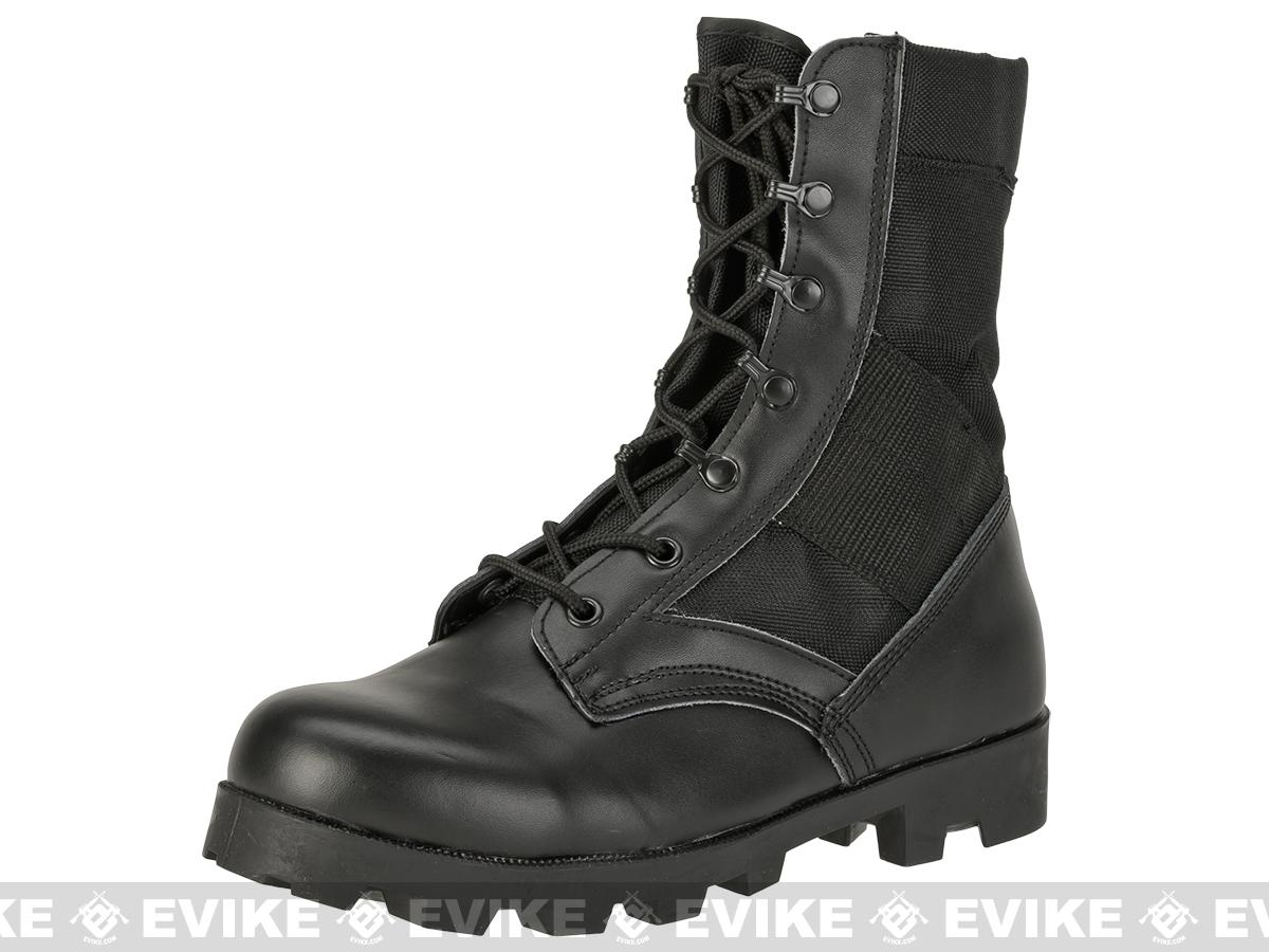 z Rothco G.I. Type  Speedlace Jungle Boots - Black (Size: 13)