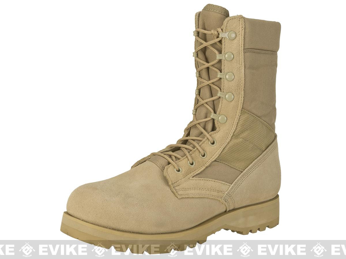 Rothco G.I. Type Desert Speedlace Jungle Boots with Sierra Sole - Tan (Size: 11)
