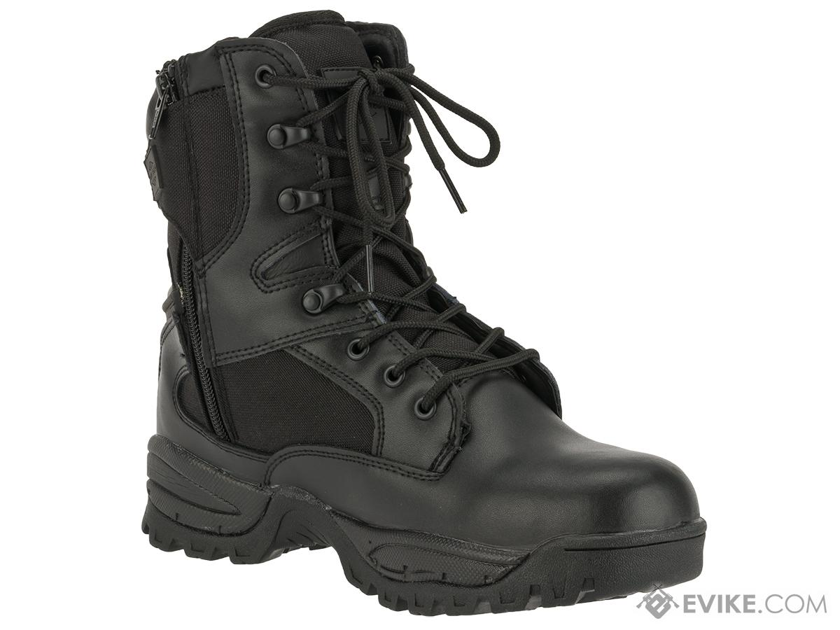 Tru-Spec Tactical Side Zipper Boots - Black (Size: 12)