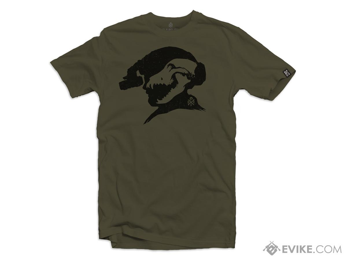 Black Rifle Division SheepDog Graphic Tee (Size: X-Large / OD Green)