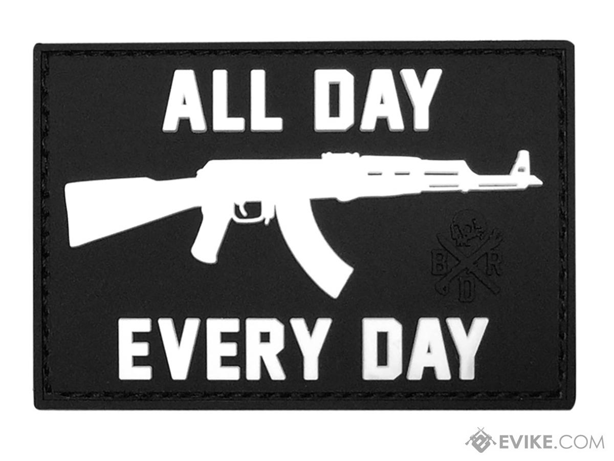 Black Rifle Division AK All Day Every Day PVC Morale Patch