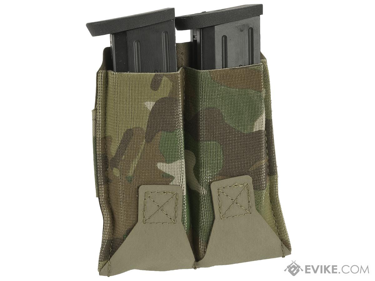 Blue Force Gear Belt-Mounted Ten-Speed®  Double Pistol Magazine Pouch - Multicam