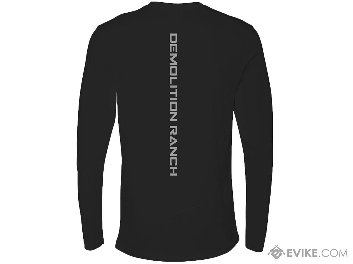 f0c8e7d1 Bunker Branding Co. Demolition Ranch Long Sleeve Shirt (Color: Black ...