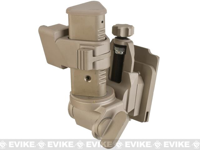 Avengers NVG mount for PVS 15/18 Type Mock NVGs - Tan