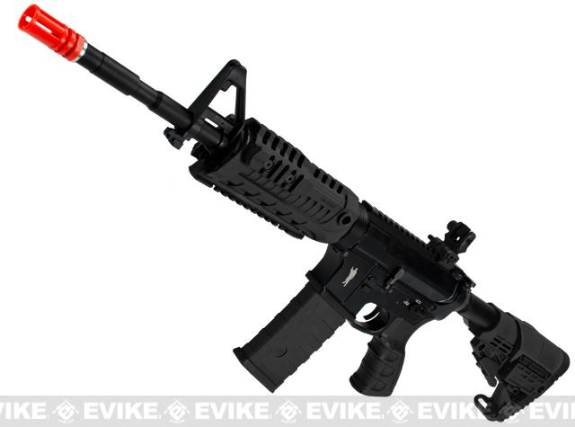 CAA Licensed Full Metal M4 Carbine Airsoft AEG Rifle by King Arms (Color: Black)