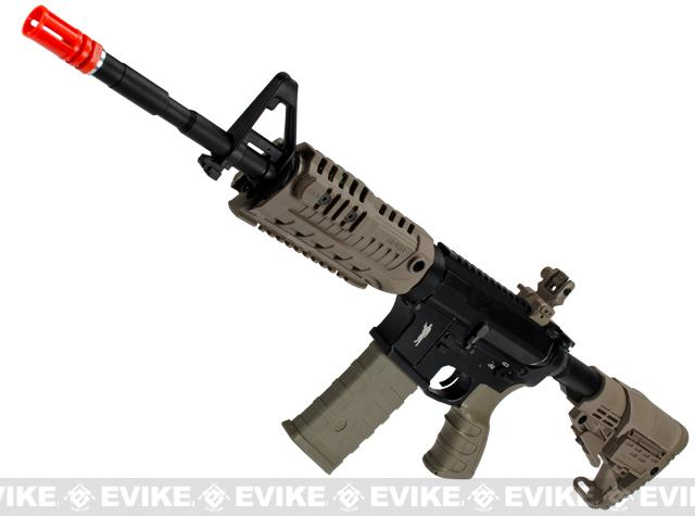 Pre-Order ETA January 2018 CAA Licensed Full Metal M4 Carbine Airsoft AEG Rifle by King Arms (Color: Dark Earth)