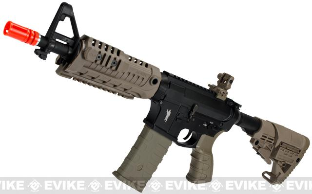 CAA Licensed M4-S1 Carbine CQB Full Metal Airsoft AEG Rifle (Color: Dark Earth)