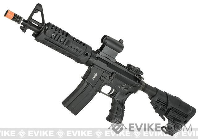 CAA Licensed M4 CQB Airsoft GBB Rifle - Black