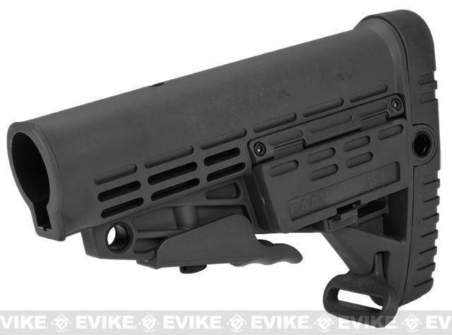 CAA Airsoft CBS M4 Airsoft AEG Rifle Stock (Color: Black)