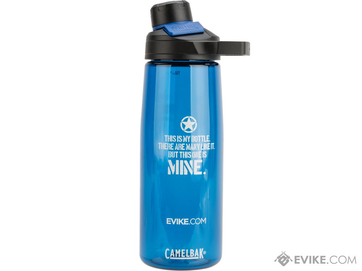 CamelBak® x Evike.com Chute Mag 25oz .75L Water Bottle (Design: Mine / Blue)