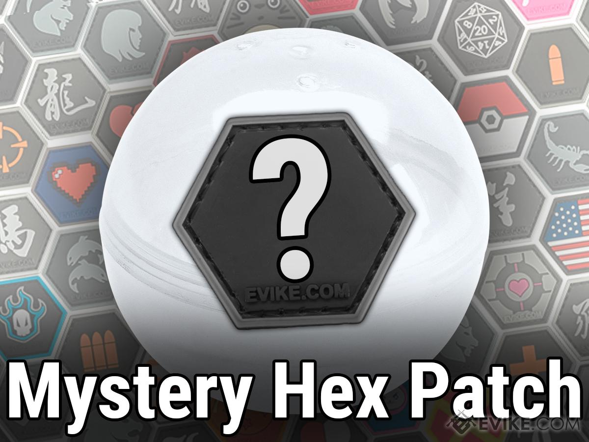 Evike.com Operator Profile PVC Hex Patch Mystery Patch Selection