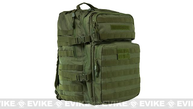 VISM by NcStar 3 Day Assault Backpack (Color: OD Green)