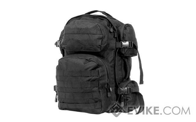 NcSTAR Tactical Assault Pack / MOLLE Backpack (Color: Black)