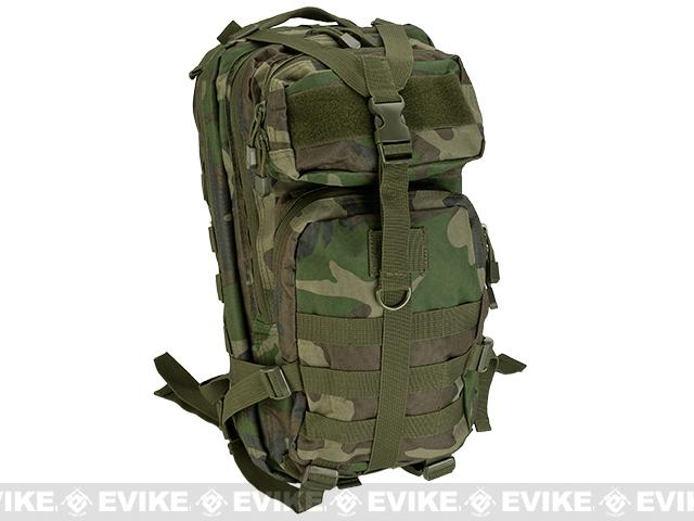 VISM / NcStar Small Tactical Backpack (Color: Woodland)