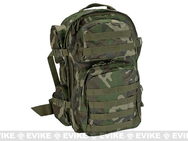 NcSTAR Tactical Assault Pack MOLLE Backpack Color Woodland
