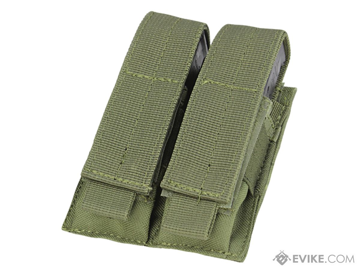 Condor Tactical Double Pistol Magazine Pouch (Color: OD Green)