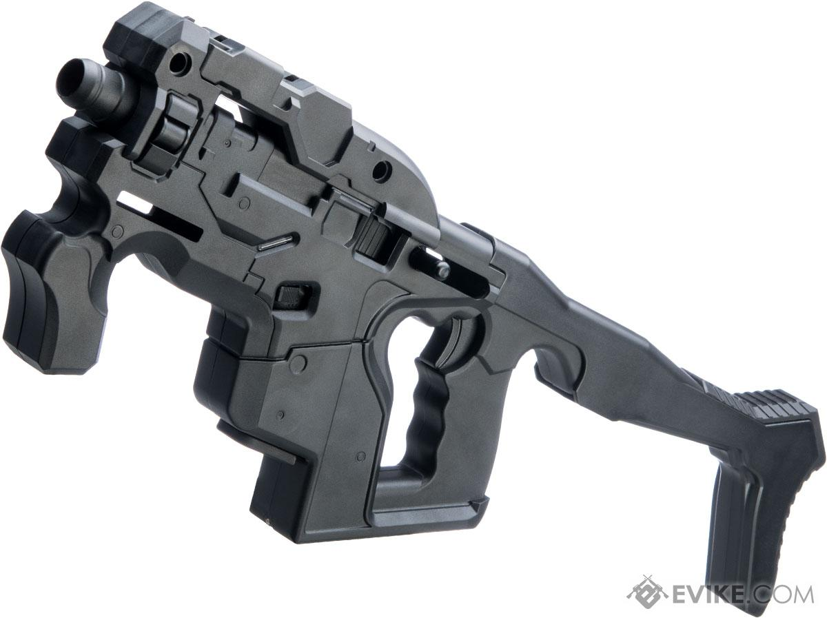 Avatar Hornet M-25 HS2 Custom Airsoft GBB Pistol Carbine with Elite Force GLOCK 17 (Color: Black Obsidian)