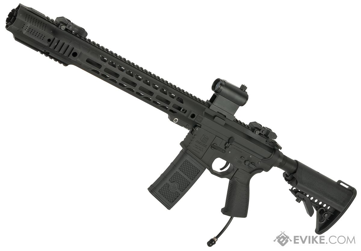 EMG / SAI Licensed AR-15 GRY HPA Training Rifle w/ JailBrake Muzzle (Configuration: Carbine / Black / PolarStar Fusion Engine V2)
