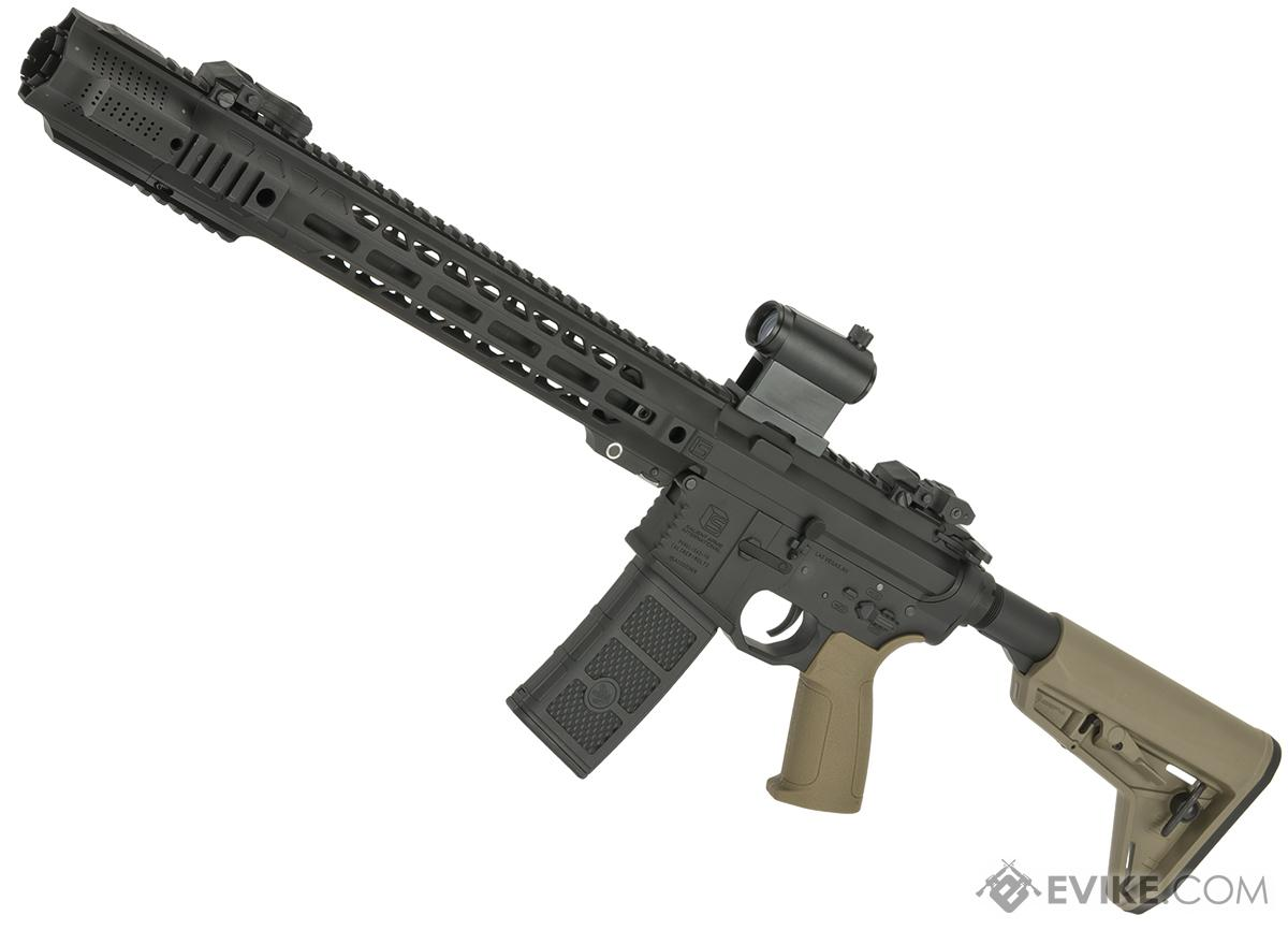 EMG / SAI GRY AR-15 AEG Training Rifle w/ JailBrake Muzzle (Configuration: Carbine / Dark Earth ITAR Furniture)
