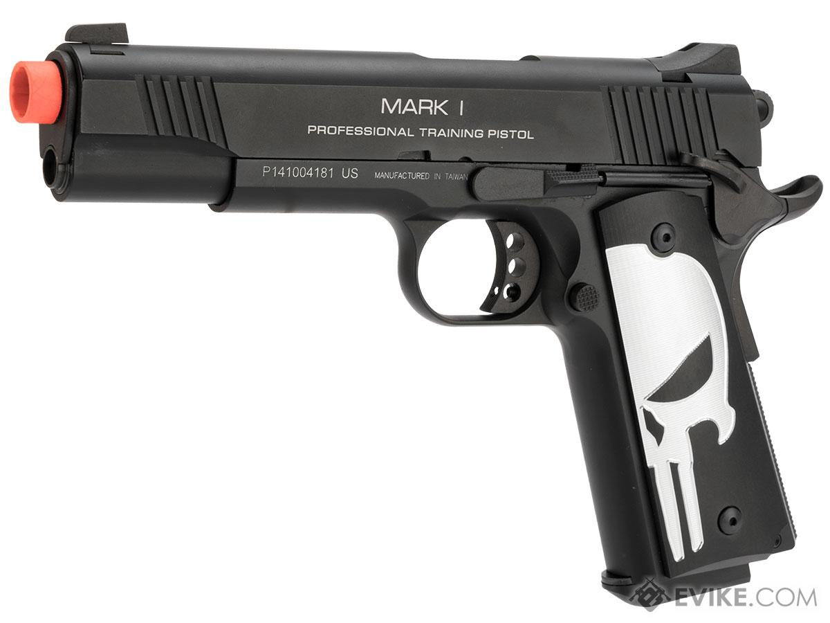 Evike.com KWA M1911 Butcher Angel Custom Enhanced Gas Blowback Airsoft Pistol (Model: MKI PTP)
