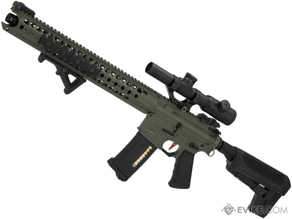Umbrella Armory Krytac LVOA (Color: Foliage Green / 400 FPS 30 RPS / Carbine w/ 2xBattery)
