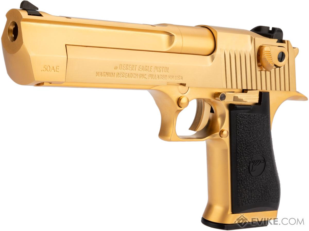We Tech Desert Eagle 50 Ae Full Metal Gas Blowback Airsoft Pistol By Cybergun Color Gold Airsoft Guns Gas Airsoft Pistols Evike Com Airsoft Superstore